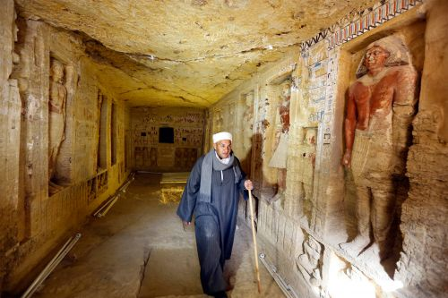 Ancient, never-looted tomb discovered in Egypt
