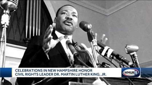 Celebrations in NH honor Martin Luther King, Jr