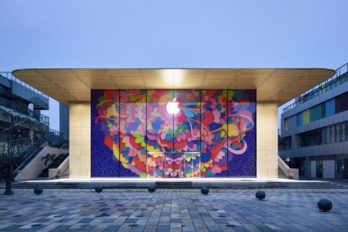 Photos reveal stunning new Apple Store in Beijing, opening soon