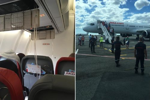 Passengers suffer nose bleeds after plane plunges in emergency landing