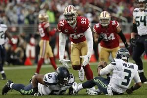 Seahawks blow chance to clinch playoffs with OT loss to SF