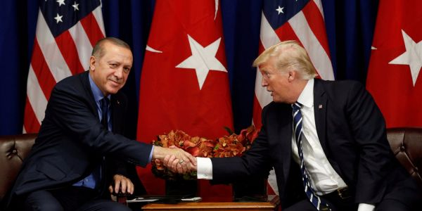 Trump says he will get peace in the Middle East 'done' by talking to Turkey's Erdogan