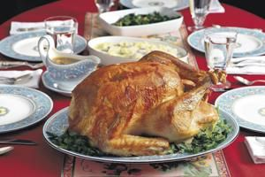 Early birds get the best crack at a tasty bird on Thanksgiving