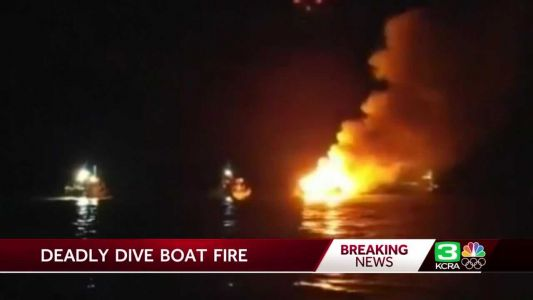 Families of 34 California boat fire victims grieve, advocate