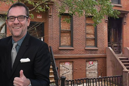 'Chopped' host wants cops to fix abandoned brownstone occupied by squatters