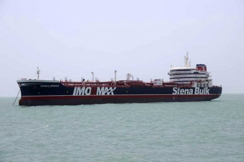 UK vows 'serious consequences' if Iran doesn't release British-flagged oil tanker
