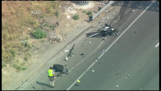 CHP officer killed in I-80 crash in Fairfield identified by officials