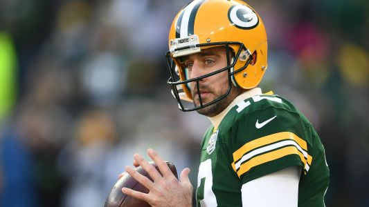 Packers QB Aaron Rodgers sets NFL record for most passes without an interception