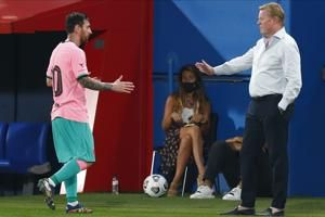 'Not the bad guy': Koeman hits back on Suárez exit at Barca