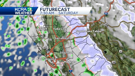 Rain and low snow for the weekend