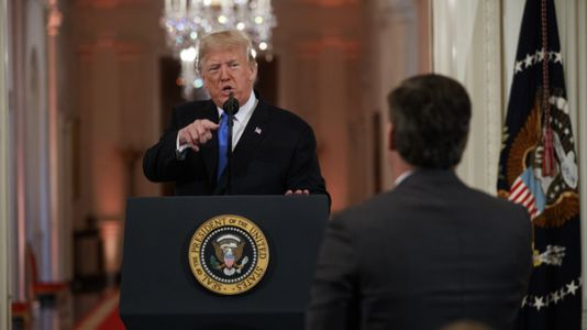 CNN Sues Trump Administration To Restore Jim Acosta's Press Credentials
