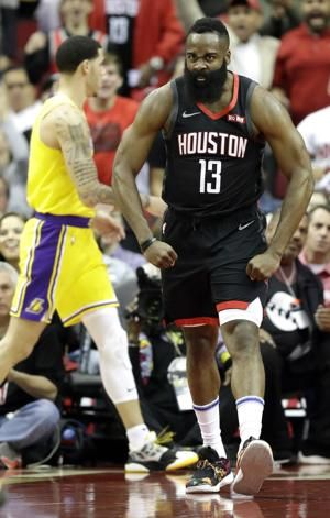 Harden has 50 in triple-double, Rockets beat Lakers 126-111