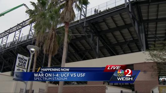 War on I-4: UCF vs. USF