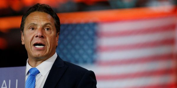 New York's governor is restoring voting rights to some 35,000 parolees