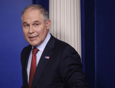 Scott Pruitt spent $12,000 in taxpayer money to travel back to Oklahoma