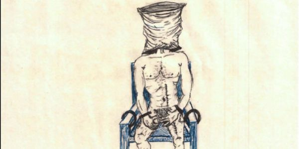 A Guantánamo detainee's drawings show the brutal CIA torture he endured at a secret US-run prison in Thailand