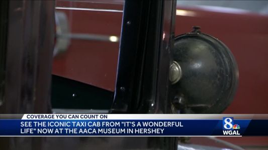 See the iconic taxicab from 'It's a Wonderful Life' at the AACA Museum in Hershey
