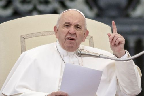 Pope Francis compares having an abortion to hiring a 'hit man'