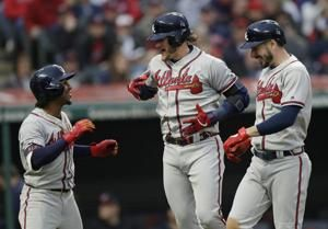 Donaldson homers twice, Braves rout Indians 11-5