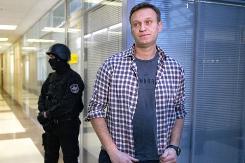 Navalny says nerve agent was found 'in and on' his body