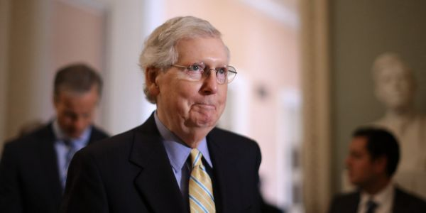 Mitch McConnell won't cancel crucial Senate votes, even with 7 Democrats out of town for the presidential debates