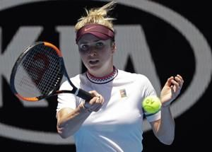 The Latest: Serena Williams beats Halep at Australian Open