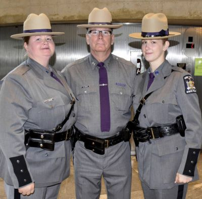 Mom, daughter are 1st to serve as NY state troopers together