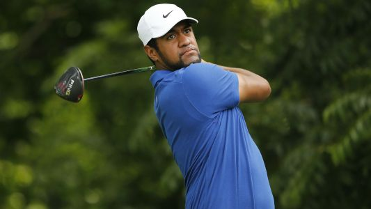 Charles Schwab Challenge: Tony Finau leads field after opening 6 under