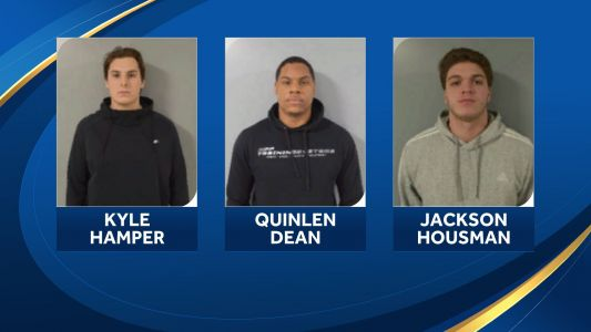 3 UNH football players face riot charges
