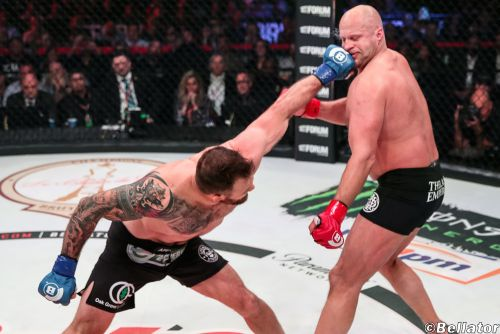 Dual champ Ryan Bader plans to beat Cheick Kongo at Bellator 226, then stay at 205 for a while