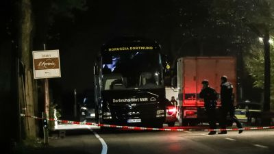 Police charge suspect with Dortmund bus attack, allege financial motivation