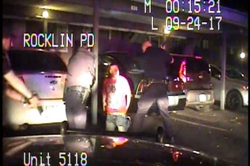Videos released following acquittal of Rocklin officer