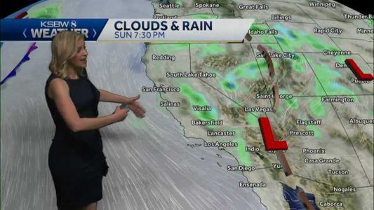 Rain Today, Warming Up Later This Week