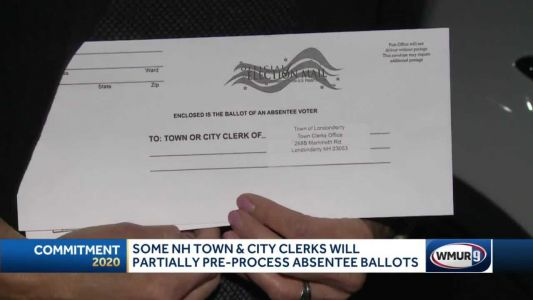 Some NH town, city clerks to partially pre-process absentee ballots