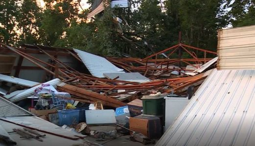 NWS assesses storm damage throughout Brown, Highland counties