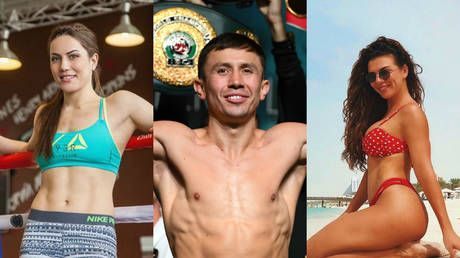 Triple 3some?: Pop star accepts Kazakh boxing babe's call to 'wow' Golovkin with skills
