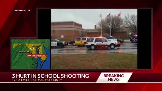 Video: 3 injured in shooting at high school in St. Mary's County