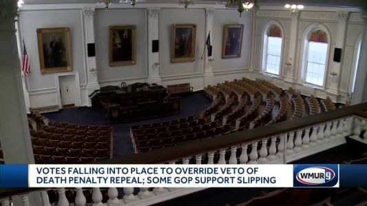 NH House reps to hold death penalty veto override vote later this week