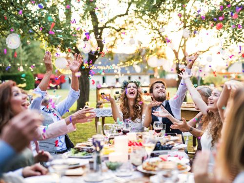 What actually makes a wedding fun, according to guests