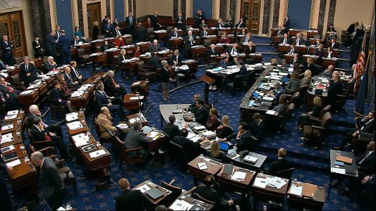 Senate approves rules, rejects witnesses in first day of impeachment trial