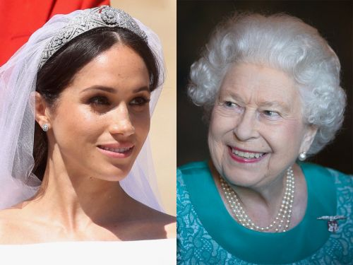 Meghan Markle's wedding veil featured a touching nod to the queen - and you probably didn't notice