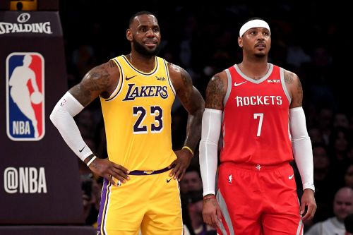 LeBron James could be Carmelo Anthony's last hope