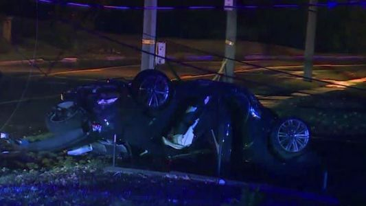 1 dead in overnight Westwood crash