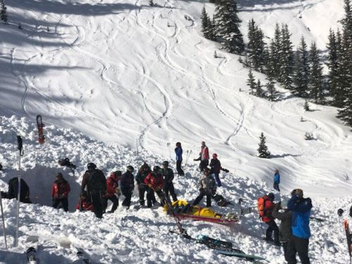 Avalanche buries several skiers, snowboarders at Taos Ski Valley