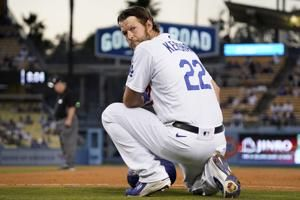 Kershaw rebounds, Dodgers go deep 5 times in rout of Rangers