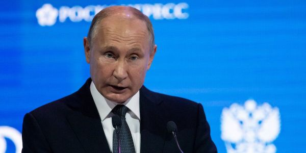 In a fiery warning to rivals, Putin says any country that nukes Russia will 'drop dead'