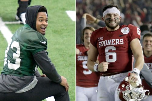 It sounds like rising Jets star has a favorite QB in the draft