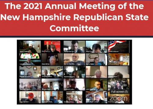 After 4-hour of Zoom chaos, NHGOP abruptly adjourns annual meeting with no vote on chair, vice chair