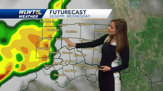 Thunderstorms move through tonight; some could be strong