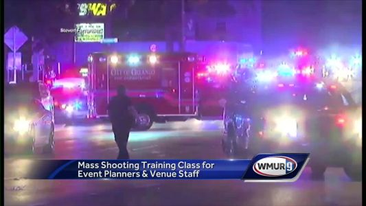Mass shooting training class held for event planners, venue staff